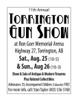11th Annual TORRINGTON GUN SHOW