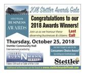 2018 Stettler Awards Gala