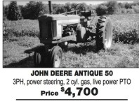 JOHN DEERE ANTIQUE 50