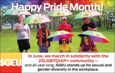 Happy Pride Month from SGEU