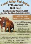 Count Ridge Red Angus 47th Annual Bull Sale