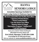 Immediate Openings Available For Single Lodge Suites & 2 Bedroom Apartments