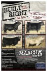 6TH ANNUAL BUILT RIGHT Bull Sale
