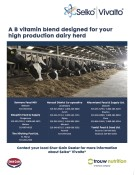 A B vitamin blend designed for your high production dairy herd