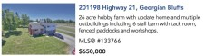 26 acre hobby farm with update home and multiple outbuildings