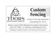 Broad Hammer Consulting Custom Fencing operation scheduling for 2019