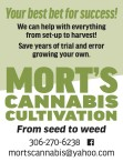 Mort's Cannabis Your best bet for success!