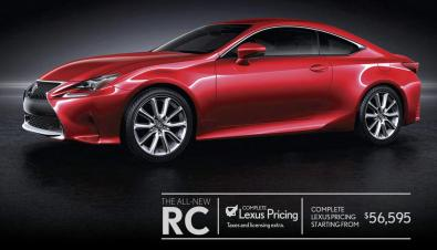 THE ALL-NEW LEXUS RC